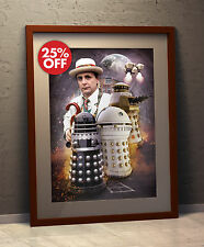 Doctor Who Sylvester McCoy Remembrance of the Daleks Poster