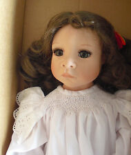 """RARE Good Kruger Vinyl Collection Tree Top Angel Girl Doll in Box 20"""" Tall 365"""