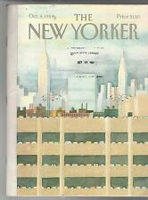 1984 New Yorker October 8-Parking garage, Empire State, Chrysler, UN  - Oh My!