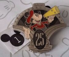 Mickey Mouse Director Hollywood Studios WDW 25th Anniversary Lanyard Disney Pin
