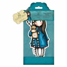 Gorjuss Hush Little Bunny Large Doll Stamp Set by Santoro London
