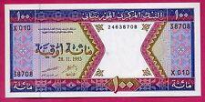 Mauritanie ( P#4f ) billet de banque 100 ouguiya ~ splendide ~ 1993 .