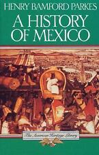 A History of Mexico (American Heritage Library)-ExLibrary