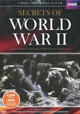 Secrets of World War II (9 DVD + Boek Duitse Panzerwaffe)