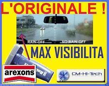 AREXONS L'ORIGINALE !! RAIN OFF TERGICRISTALLO INVISIBILE ! X AUTO FUNZIONA °