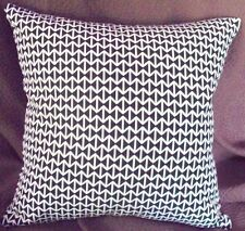 Maharam DOUBLE TRIANGLE Black & White Modern Mid Century Contemporary Pillow