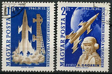 Hungary 1961 SG#1732-3 Space Flight Used Set #A84138