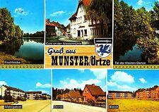 Munster / Örtze ,Ansichtskarte,1989 gelaufen