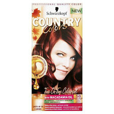 SCHWARZKOPF Country Colors HAIR DYE 58 Grand Canyon Red