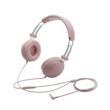 Elecom EHP-SMOH100 Headphones with Mic for Smart phone, IPOD, TABLET - PINK
