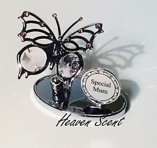 Special Mum Butterfly Ornament Mothers Day Gift Ideas with Swarovski SP502