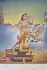 SALVADOR DALI LEDA ATOMICA HAND NUMBERED PLATE SIGNED NUDE LITHOGRAPH