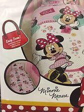 DISNEY Minnie Mouse Set Copripiumino Singolo (REVERSIBILE) nuovo di zecca