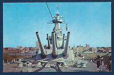 USS NORTH CAROLINA BB-55 Battleship 16-inch Guns