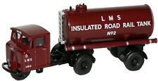 Oxford Diecast LMS Mechanical Horse Tank Trailer 76MH010 OO Scale (suit HO)