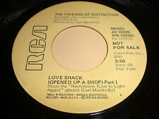 The Friend's Of Distinction: Love Shack (Opened Up A Shop)-Part 1(Mono) 45-Soul