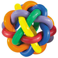 Hard Rubber Dog Toy - Knobbly Wobbly II Large 4 Inch - Tough Toys for Ruff Dogs