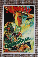 The Oragon Trail Lobby Card Movie Poster John Wayne Western
