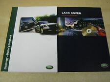 LANDROVER DISCOVERY 2 OWNERS MANUAL HANDBOOK  2002-2004 AND AUDIO BOOK