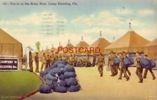 1941 Company 'A' Receiving Bn. YOU'RE IN THE ARMY NOW, CAMP BLANDING, FLA.