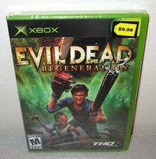 EVIL DEAD Regeneration SEALED NEW XBOX Action Bruce Campbell as Ash Ted Raimi
