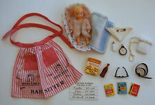 Vintage Barbie Baby-Sits Babysits #953 1963 Near Complete Baby Phone Glasses