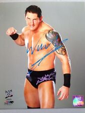 Wade Barrett Signed Wwe 8x10 Photofile Promo Nxt Raw COA Authentic Proof