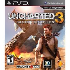 Uncharted 3: Drake's Deception  - Sony Playstation 3 Game