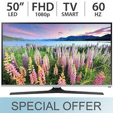"""Samsung 50"""" Inch 1080p FULL HD SMART LED LCD TV 60Hz w/ 2 HDMI -  UN50J520D"""