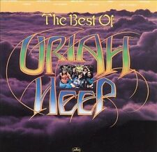 URIAH HEEP The Best Of (CD 1989) NEW SEALED 9 Songs Greatest Hits Cracks in Case