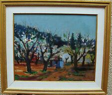 Gideon Isaksson 1911-1980, Blühende Fruchtbäume , um 1950/60