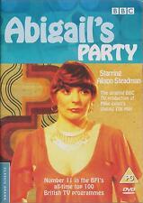 ABIGAIL'S PARTY - BBC Drama. Alison Steadman. Written by Mike Leigh (DVD 2003)