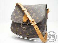 AUTH PRE-OWNED LOUIS VUITTON LV MONOGRAM SAINT-CLOUD MM CROSSBODY BAG M51243 NR