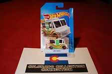 Hot Wheels - Ice Cream Truck - 2014 HW City - 9/250 1:64 White