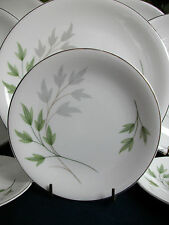 SHELLEY EVERGREEN (#13892) c.1950's- BREAD PLATE(s)- EXCELLENT! SILVER TRIM!