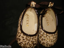 BABY LEOPARD SHEEN ANIMAL 6 WEEKS TO 3MONTH BY GUESS SIZE 1  NWBOX