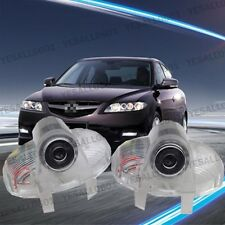 2x CREE LED Door Lights Courtesy Step Projector For Mazda 8 RX-8 CX-9 ZOOM-ZOOM