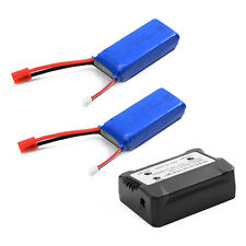 7.4V 2000mAh 25C Lipo Battery+2 in 1 Battery Balance Charger For Syma X8HW BC587