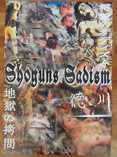 Horror Kinoplakat SHOGUNS SADISM Teruo Ishi  Yoshida Watanabe Erotik