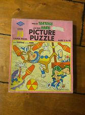 TOMMY TORTOISE AND THE HARE PICTURE PUZZLE WARREN BUILT RITE VINTAGE
