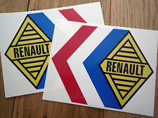 RENAULT ALPINE Tricola 325mm rally & race car stickers