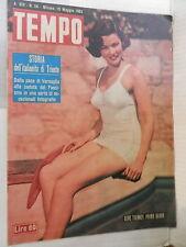 TEMPO 10 maggio 1952 Gene Tierney Alfredo Faotto Culicigno Maria Fiore Trieste