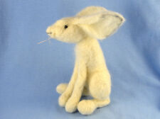 Snow Hare Complete Needle Felting Kit, Moon Gazing, Collectible, Fun, Craft