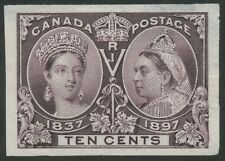 CANADA #57P3 XF-SUPERB ON INDIA PAPER THIN SPOT BS5105