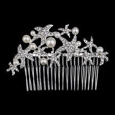 Beach wedding hair comb Starfish hair clip hair accessories Bridal headpieces