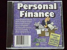 PERSONAL FINANCE - STOCKS, BONDS, INCLUDES 1993 YEAR-END TAX FILING SOFTWARE! CD