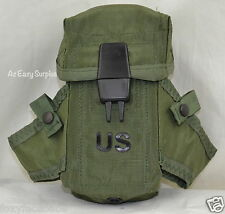 Military Small Arms Ammunition Case Magazine M-16 Rifle LC-1 Pouch OD Green EUC