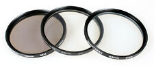 SET OF 3 58MM FILTERS (DIFF,ND2,UV)