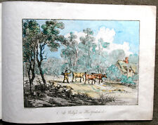 1812 - rare plates of Welwyn, Kingston, Norwood -  by Laporte