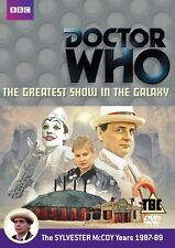 Doctor Who: the Greatest Show in Galaxy [DVD] Sylvester McCoy come il dottor who
